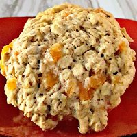 Pistachio and Apricot Oatmeal Cookies