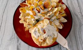 B3 (Blue cheese, Boursin, and Bacon) Cheese Ball is super creamy, has the perfect amount of blue cheese and garlic herb blend with just a touch of bacon. Guests will ask for the every time they come over.
