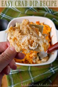 Easy Crab Dip Recipe #GetWellMichelle