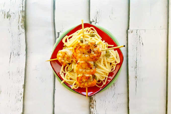 Grilled Shrimp Piccata