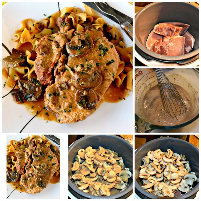It can't get simpler than throwing all the ingredients in the slow cooker and letting it do the work for you. Slow Cooker Pork Chops with Mushroom Sauce are not only super easy but SUPER delicious, too! Your family will ask for these all the time.