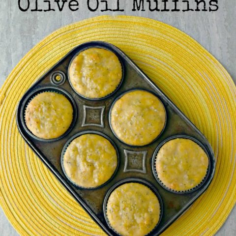 Meyer lemons have the flavor of lemons without the acidity. These Meyer Lemon Olive Oil Muffins are packed with delicious lemon and olive oil flavor and speckled with chia seeds for added protein.