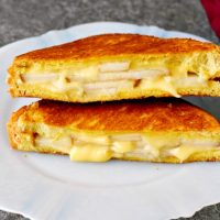 Applewood Gouda and Pear Grilled Cheese