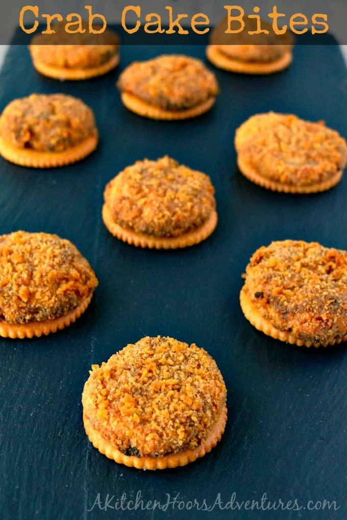 These Crab Cake Bites have all the flavor of their bigger counterparts in a fun, cracker sized bite.
