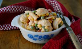 Fiesta Pea and Pasta Salad