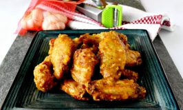 Garlic Peri-Peri Baked Wings