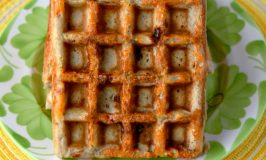 Buckwheat and Pepper Jack Waffles