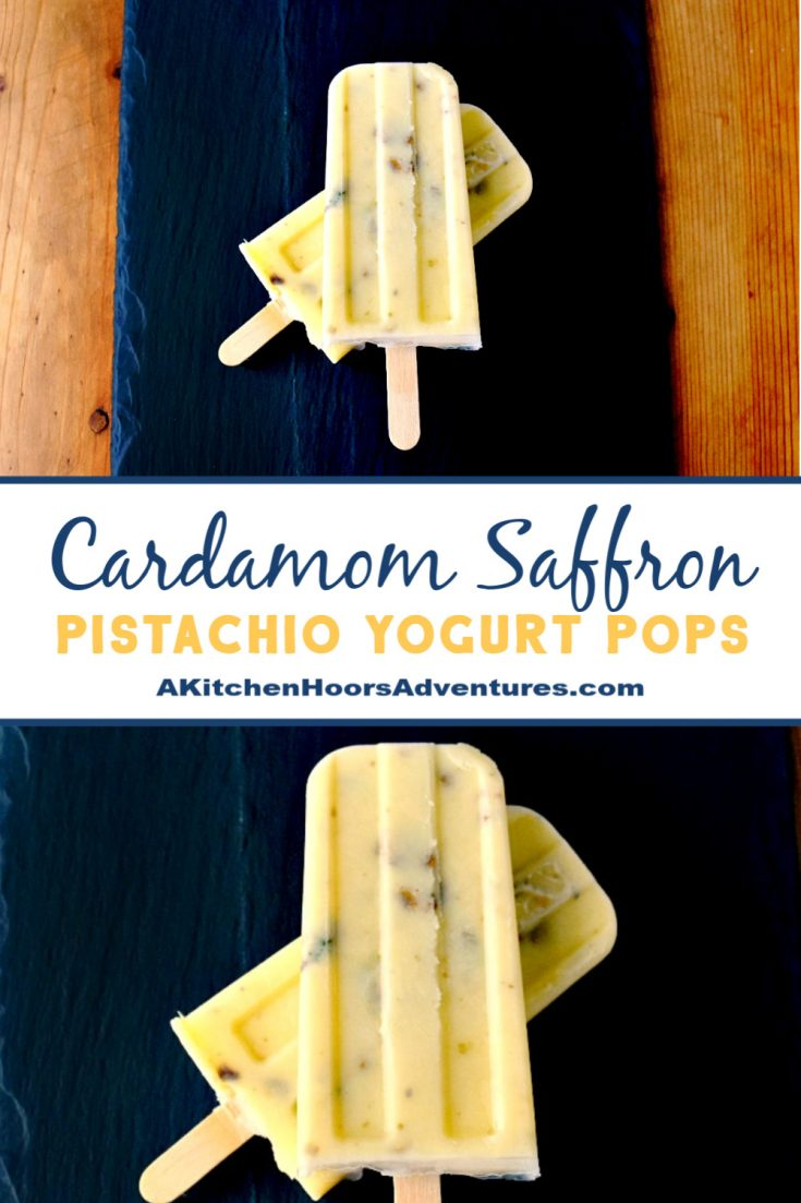 The exotic flavors in these Cardamom Saffron Pistachio Yogurt Pops have you traveling from your kitchen. They're quick to make and OH so delicious!