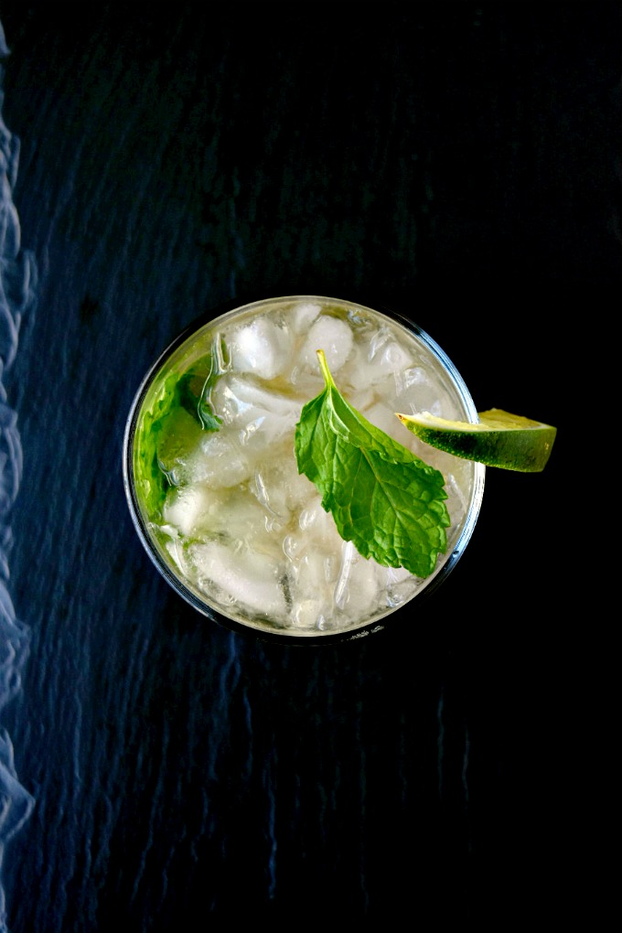 A favorite drink at the Jersey Shore gets an adult makeover! These Sparkling Mojito Lime Rickies combine my two favorite lime drinks: mojito and lime rickies. #BrunchWeek