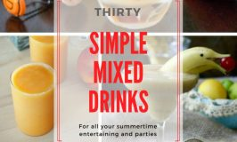 Making Mixed Drinks for Summer Refreshment