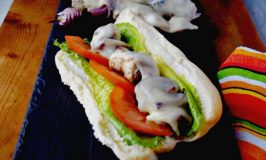 Pork Spiedini Hoagies