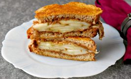 Apple Almond Butter Manchengo Grilled Cheese