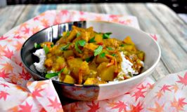 Chicken Pumpkin Curry #PumpkinWeek