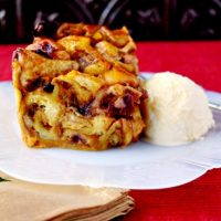 Cranberry Orange Bread Pudding