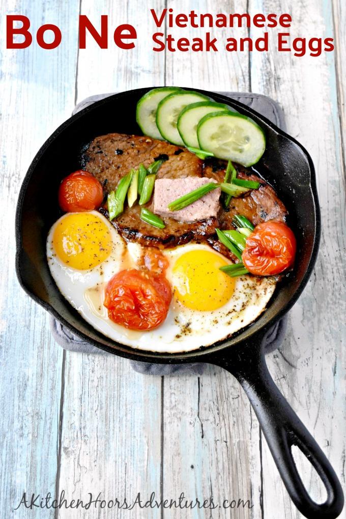 Bo Ne Vietnamese Steak and Eggs