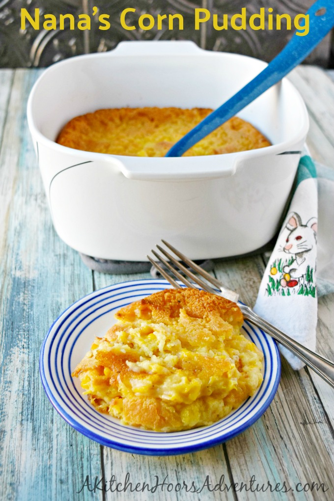 Nana's Corn Pudding