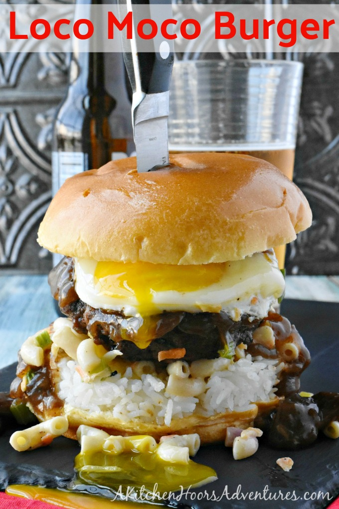 Authentic Loco Moco Hawaiian Burger