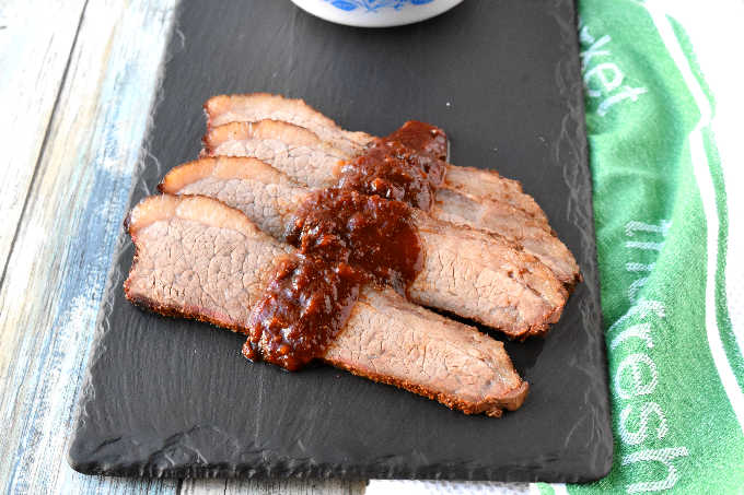 Grill Smoked Brisket
