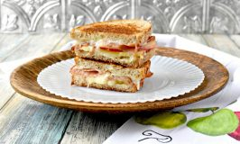 Apple Jamon Fontina Grilled Cheese