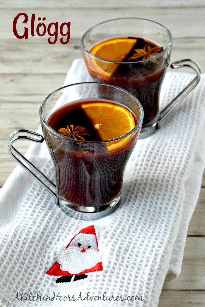 Warm up with the spicy goodness that is mulled wine! Gløgg is a Swedish mulled wine packed with spice, a little sugar, and some fresh orange flavor.