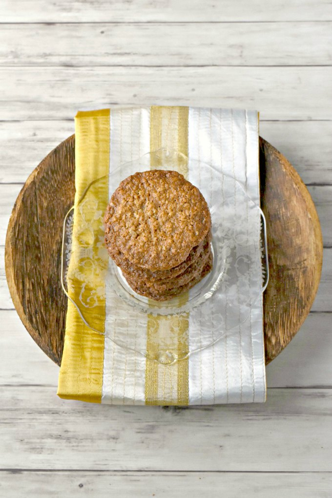 Similar to an oatmeal lace cookie, Havreflarn is a Swedish classic. They are crispy with buttery oat flavor that's irresistible.