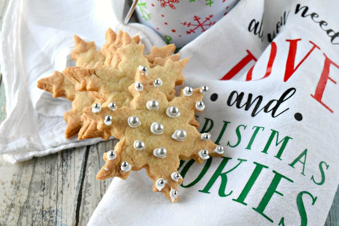 There's a secret ingredients in these Irish Shortbread Cookies. It makes them super crunchy and deliciously irresistible. Double the batch because you'll want to nibble on these through the holidays.