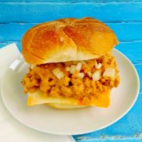 Chicken Cheeseburger Sloppy Joes