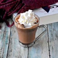 Dark Chocolate Orange Hot Chocolate
