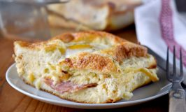 Croque Madame Casserole for Two