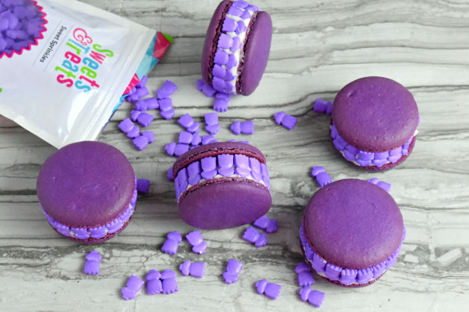 Rosemary Lavender Macaron will not smack you in the olfactory!  There's a just enough of each to give that delicate hint of these two delicious flavors. #BrunchWeek