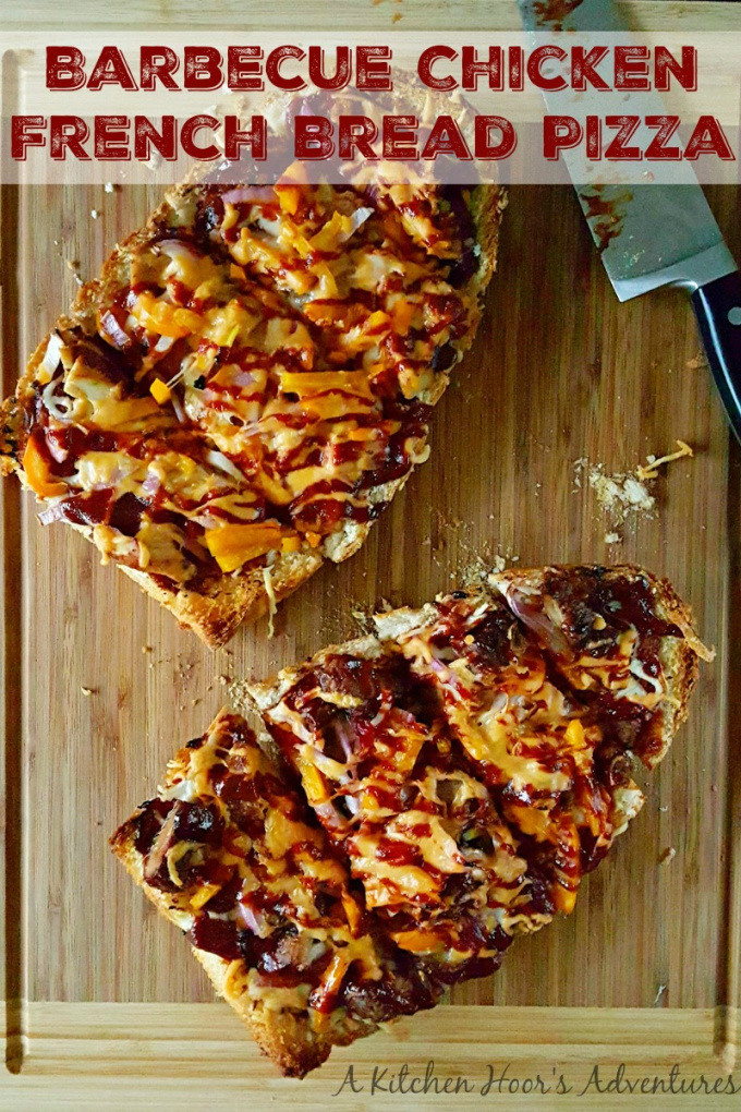 With some Texas Bold & Spicy barbecue sauce, this Barbecue Chicken French Bread Pizza will definitely be a crowd pleaser!
