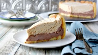 Peanut Butter and Chocolate Charlotte