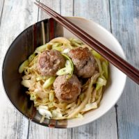 Instant Pot Asian Pork Meatballs