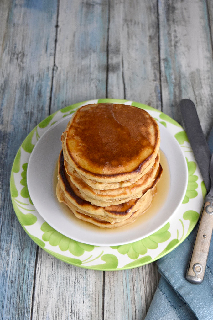 Easy Peanut Butter Pancakes