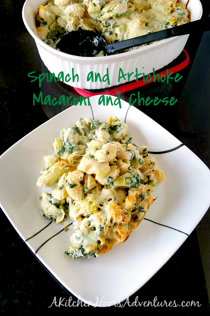 Adding spinach and artichokes to regular macaroni and cheese makes this Spinach and Artichoke Mac and Cheese hearty enough even for the most die hard meat eaters.
