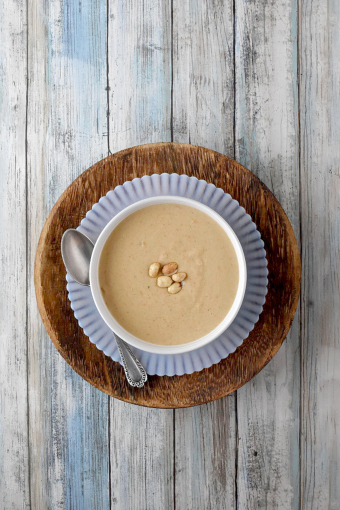 Easy Virginia Peanut Soup has so few ingredients that you probably already have and it takes so little effort you'll be amazed at the depth of flavor it has. #OurFamilyTable