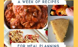 Just a few Simple Meal Planning Ideas for your family. Meal planning helps you keep your weekly dinner menu on a budget.