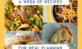 Meal Planning Ideas Week 3 has 6 tips and tricks to help get you started. Sharing methods for inspiration, ways to get new recipes, and help with saving those recipes!