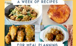Meal Planning Week 8 offers up suggestions for meals on the quick. From one pot meals to 5 and under ingredients, there's no excuse to order in with these quick tips. #MealPlanning