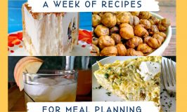Weekly Meal Planning Week 13 is all about the pasta-bilities. That is recipes that have pasta or you can serve with pasta. #MealPlanning